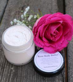 Rose Body Butter in Etsy Shop