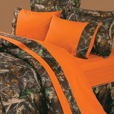 images of orange camoflage bed conforters | Buy Camo Bed Sheets from Bed Bath & Beyond