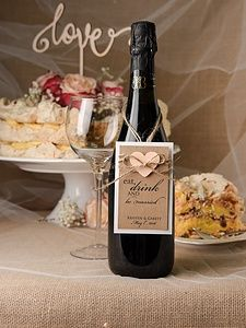 Enhance the wedding wine bottles by unique customized labels. Personalised Wedding Invitations, Gold Wedding Invitations, Elegant Invitations, Wedding Stationery, Personalised Wine, Wedding Planner, Wedding Wine Labels, Wedding Wine Bottles, Drink Labels