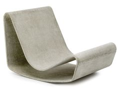 Concrete chair. If I had a garden, two of these would be in it.