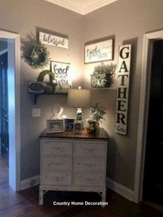 Cozy Farmhouse Living Room Decor Ideas That Make You Feel In Village 32 Living Room Design Living Room Furniture, Living Room Decor, Decor Room, Rustic Furniture, Paint Colors For Living Room, Small Living Rooms, Cheap Furniture, Dining Rooms, Furniture Ideas