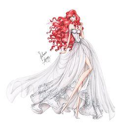 The Fire Bride  Design by Glimmerwood www.glimmerwoodbridal.com Concept art by Guillermo Meraz