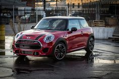 "When looking at the John Cooper Works Hardtop 2 Door, what's the first word that comes to mind, other than ""I-need-some-of-that! John Cooper Works, John Works, Mini Cooper Sport, New Mini Cooper, Cooper Cars, Mini Usa, Mini Copper, Mini Countryman, Cute Cars"