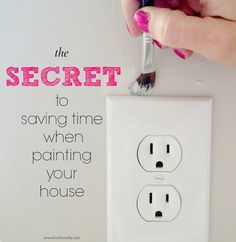 10 Paint Secrets: the secret to saving time when painting your house! Good to | http://homedesigncollections.blogspot.com