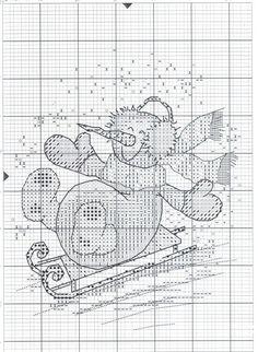 НОВЫЙ ГОД. ЧАСТЬ 4 - запись пользователя alla_sergej (Allusik) в сообществе Вышивка в категории Схемы вышивки крестом, вышивка крестиком