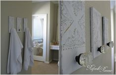 15 Cool DIY Towel Holder Ideas for Your Bathroom 3