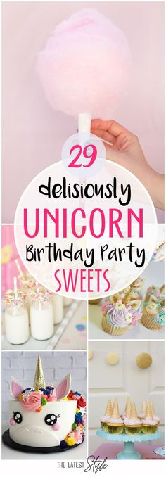 For the best little girl on her special day, transform an ordinary birthday party into an enchanted adventure through a colorful wonderland of unicorns, rainbows, fairies, and candy. Using these ... Read More