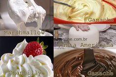Hoje vamos falar de recheios e Coberturas. Reunimos aqui as receitas tradicionais das coberturas e recheios mais comuns de bolos atualmente. É claro que em