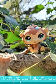 Cute monkey figure in the woods / LPS Photography