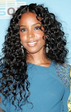 Curly Weave Hairstyles for Black Women: Curly Weave Hairstyles For Black Women 2013 ~ http://wowhairstyle.com/ Black Curly Hair, Deep Curly, Long Curly, Curly Lace Front Wigs, Curly Weave Hairstyles, Indian Hairstyles, Black Women Hairstyles, Curly Hair Styles, Prom Hairstyles