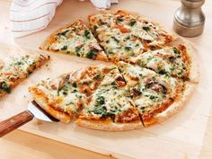 "By Dana Leigh Smith""Healthy pizza"" doesn't have to be an oxymoron...The savory melt-in-your-mouth ch... - Provided by Eat This, Not That!"