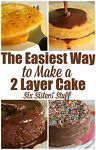 Ingredients you will need: 1 box of your favorite cake mix Ingredients called for on the cake mix Non Stick Spray 2 cans of chocolate frosting SprinklesMix and Bake the Cake. Make the cake mix according...
