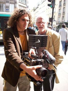 """Stephen M. Katz in Paris known as cinematographer of """"Blues Brothers"""" and """"Gods and Monsters"""" Blues Brothers, Cannes, Film Festival, Monsters, In This Moment, Paris, Travel, Montmartre Paris, Viajes"""
