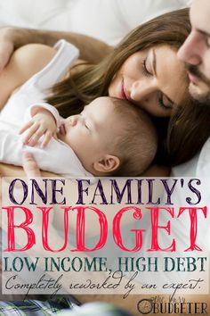 "One Family's Budget with Low Income and High Debt, Completely Reworked into a Long Term Financial Guide by an Expert. THIS IS THE BEST THING I HAVE *EVER* READ ON PINTEREST. I hear about budgets ALL THE FREAKING TIME. But seeing in such an honest and open and incredibly detailed way of every step of it AND How it relates to your actual life. I wish more than anything there were more ways to see this, real numbers, real life and not just a ""Pinterest worthy perfect budget"" that no one ever…"