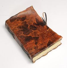 Unique Maple Journal by GILD Bookbinders
