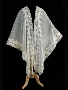 During an era when thin cotton dresses, short sleeves, and low necklines were prevalent, the shawl became an important and ubiquitous necessity, especially in cool, draughty houses. Jane Austen men…