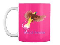 Bird Of Paradise Hot Pink T-Shirt Front