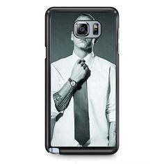 Eminem With Suit TATUM-3947 Samsung Phonecase Cover Samsung Galaxy Note 2 Note 3 Note 4 Note 5 Note Edge
