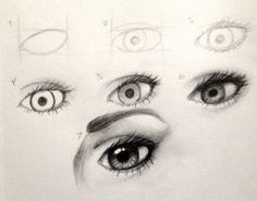 Eye Tutorial by Kaspiian