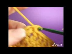 Shell Stitch: Learn how to crochet the shell stitch in this free video from AnniesCatalog.com.