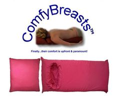 This Is A Body Pillow With A Hole For Your Breasts - OhGizmo! Like this.