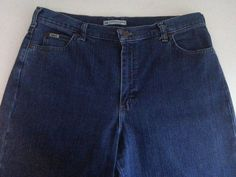 LEE Women's Relaxed Jeans 14 Medium Denim Straight Leg High Rise Ins 31 Cotton #Lee #StraightLeg #ebay #Lee #StraightLeg #Relaxed