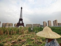 China Tried To Build A City To Replicate Paris ... And Here's What It Looks Like Now