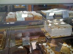 Croatian pastry shop. Oh man, do i miss that. Reminds me to bake something special for Zlatko's birthday ;)
