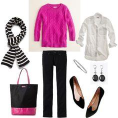 You know I love my pink...but I'd have to pick a different shoe!