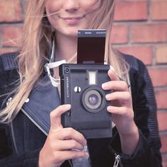 Don't let photos fester with thousands of others on your smartphone; create real, physical memories with the Lomo Insant Camera - moments that you can carry with you, slip in a wallet, pin on the wall, share with a mate.