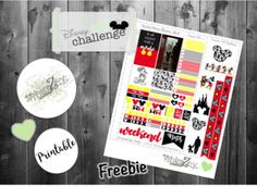 Mickey Mouse – oh so whimZey Free Planner, Happy Planner, Planner Ideas, Agenda Book, Disney Classroom, Disney Challenge, Planner Organization, Classroom Organization, Organizing