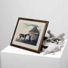 Giulio Paolini, ECLIPSE, 1986, 60 x 60 x 80 cm, mix media, ed. 4/6, In collaboration with Studio La Citta
