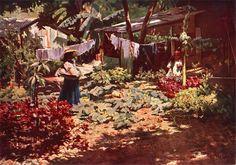 Eliseu Visconti, Meu quintal - Copacabana. on ArtStack #eliseu-visconti #art