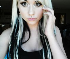 Swell Awesome Blonde Underneath And Blonde Hair On Pinterest Hairstyles For Women Draintrainus