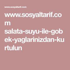 www.sosyaltarif.com salata-suyu-ile-gobek-yaglarinizdan-kurtulun