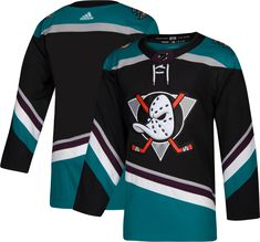 new styles 1201e 3d54b adidas Men s Anaheim Ducks Authentic Pro Alternate Jersey