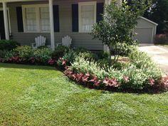 Landscaping ideas   Flower Beds & Gardens   Pinterest
