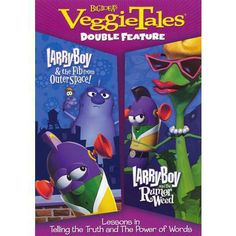 Veggie Tales: Larry Boy and the Fib/Larry Boy and the Rumor Weed (2 Discs)