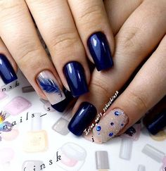 Elegant Nail Designs You can collect images you discovered organize them, add your own ideas to your collections and share with other people. Orange Nail Designs, Elegant Nail Designs, Short Nail Designs, Nail Art Designs, Manicure Nail Designs, Nail Manicure, Green Nails, Blue Nails, Hair And Nails