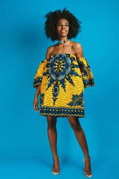 45 Fashionable African Dresses | Discover the hottest ankara African dresses you need this season. Everything from peplum, bubble sleeves, and flare to mixed African print. This season's hottest styles & where to get them are in one convenient post. Get t