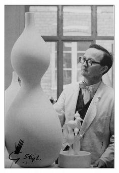 Stig Lindberg 1916-1982 Swedish Designer, Illustrator and Art Director from Gustavsberg