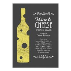 Discount Deals Wine and Cheese Bridal Shower Invitations online after you search a lot for where to buy