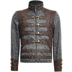 044293d061 Gray Chocolate Vintage Steam Punk Steampunk Style Jackets Men SKU-11401623  Steampunk Clothing