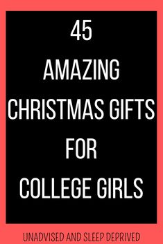 Christmas gift ideas for college girls. Find 45 different gift ideas that are perfect for college students. christmas gift ideas, christmas gift ideas for college girls, college girl gifts, college gift ideas, college gifts Student Christmas Gifts, College Student Gifts, Christmas Gifts For Girls, Homemade Christmas Gifts, College Students, Mason Jar Christmas Crafts, Diy Crafts For Boyfriend, Hunting Birthday, Gifts Under 10