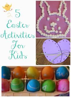 5 Easter Crafts for Kids || The Chirping Moms