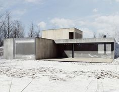 Light Soil V2 - A Minimal Residence Made Of Concrete, Glass, And Wood | UltraLinx