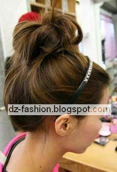 طريقة عمل تسريحات شعر بسيطة Dz Fashion Easy Hairstyles Hair Styles Hair