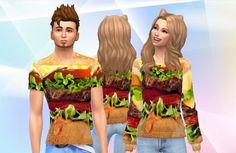 Printed tops at Mody Wery via Sims 4 Updates