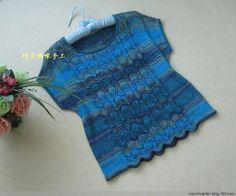 [Nitelikli Mumya] rengi mavi - mavi kısa kollu kravat boya segmenti - xiaoshuletter - Renkli iplik