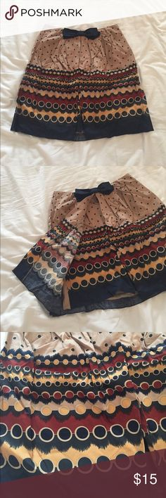 Anthropologie Skirt - Size 4 Anna Sui (for Anthropologie) fun patterned skirt! Anthropologie Skirts